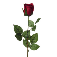 Rose Bud Siena Open Real Touch Red