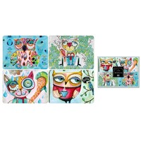 Wise Critters - Set of four placemats