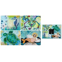 Water Dwellers - Set of four placemats