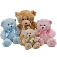 Hospital Bear Blue 30cm