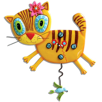 Kimmi Kitty Pendulum Clock