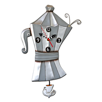 Brew Pot Pendulum Clock