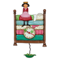 Princess Peapod Pendulum Clock